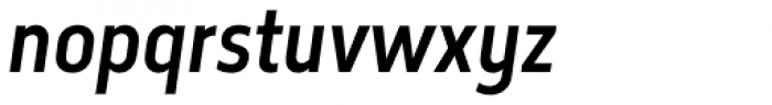 Elysio Medium Italic Font LOWERCASE
