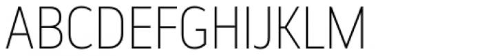 Elysio Thin Font UPPERCASE