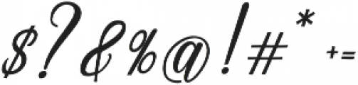 Emainell Script Bold otf (700) Font OTHER CHARS