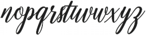 Emainell Script Bold otf (700) Font LOWERCASE