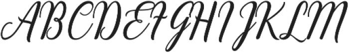 Emainell Script Bold ttf (700) Font UPPERCASE