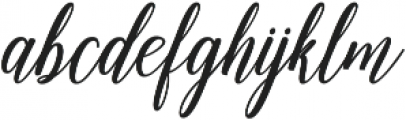 Emainell Script Bold ttf (700) Font LOWERCASE