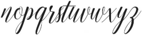 Emainell Script Regular otf (400) Font LOWERCASE