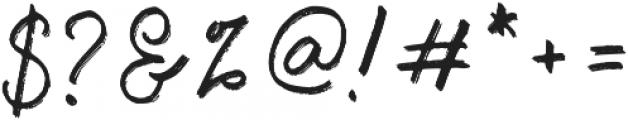 Emargo otf (400) Font OTHER CHARS