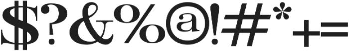 Ember Light otf (300) Font OTHER CHARS