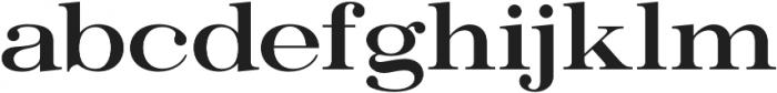 Ember Semibold otf (600) Font LOWERCASE