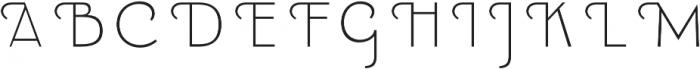 Emblema Fill 1 Swash otf (400) Font UPPERCASE