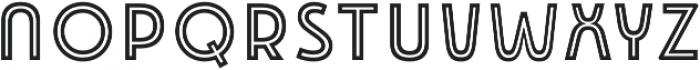 Emblema Inline 1 Extraswash otf (400) Font LOWERCASE
