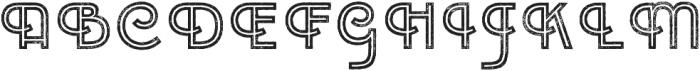 Emblema Inline 2 Extraswash otf (400) Font UPPERCASE
