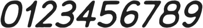 Embro Regular Italic ttf (400) Font OTHER CHARS