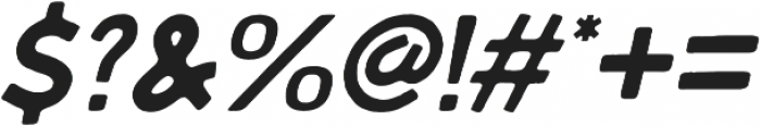 Embro SemiBold Italic ttf (600) Font OTHER CHARS