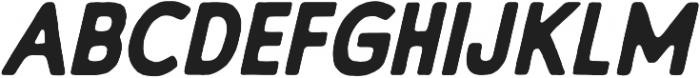 Embro SemiBold Italic ttf (600) Font UPPERCASE