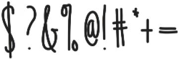 Emelie ttf (400) Font OTHER CHARS