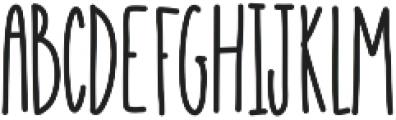 Emelie ttf (400) Font UPPERCASE