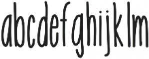Emelie ttf (400) Font LOWERCASE