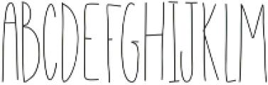 EmelieLight ttf (300) Font UPPERCASE