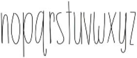 EmelieLight ttf (300) Font LOWERCASE