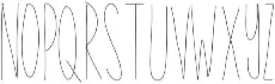 EmelieLine ttf (400) Font UPPERCASE