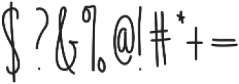 EmelieUltraLight ttf (300) Font OTHER CHARS