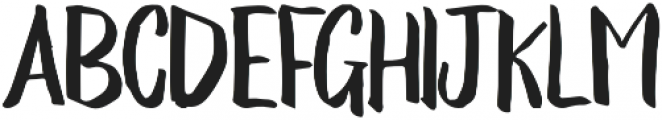 Emily Smiles Brush otf (400) Font LOWERCASE