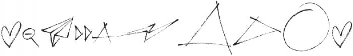 Emily Smiles Illustrations Regular otf (400) Font OTHER CHARS