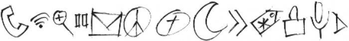 Emily Smiles Illustrations Regular otf (400) Font UPPERCASE