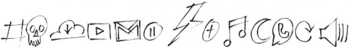Emily Smiles Illustrations Regular otf (400) Font LOWERCASE