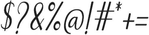 Emilyne otf (400) Font OTHER CHARS