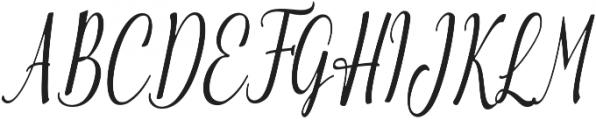 Emilyne otf (400) Font UPPERCASE
