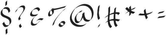 EmilysBrushedFont ttf (400) Font OTHER CHARS