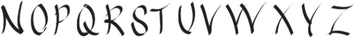 EmilysBrushedFont ttf (400) Font UPPERCASE