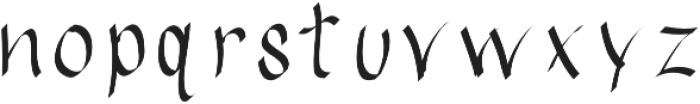 EmilysBrushedFont ttf (400) Font LOWERCASE