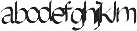 EmilysRibbonFont ttf (400) Font LOWERCASE