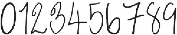 Emma Regular otf (400) Font OTHER CHARS