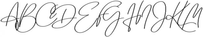 Emmylou Signature Medium Sl otf (500) Font UPPERCASE