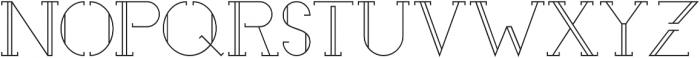 EmonaLight otf (300) Font UPPERCASE
