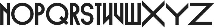 Empire Straight otf (400) Font LOWERCASE