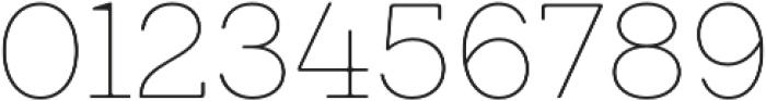 Emy Slab Alt Thin otf (100) Font OTHER CHARS