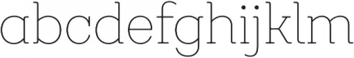 Emy Slab Alt Thin otf (100) Font LOWERCASE