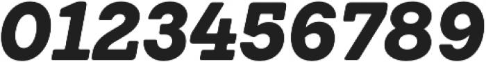 Emy Slab Black It otf (900) Font OTHER CHARS