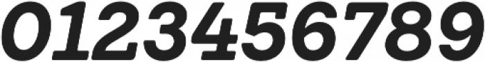 Emy Slab Bold It otf (700) Font OTHER CHARS