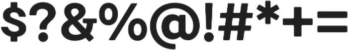 Emy Slab Bold otf (700) Font OTHER CHARS
