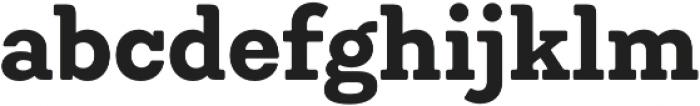 Emy Slab Bold otf (700) Font LOWERCASE