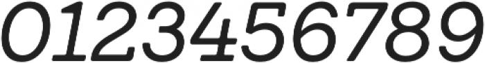 Emy Slab Regular It otf (400) Font OTHER CHARS