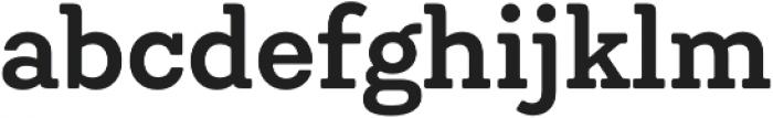 Emy Slab SemiBold otf (600) Font LOWERCASE
