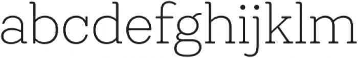 Emy Slab UltraLight otf (300) Font LOWERCASE