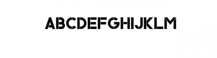 Ember Typeface Font UPPERCASE