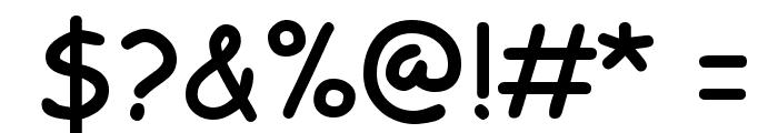 EMcomic-Bold Font OTHER CHARS