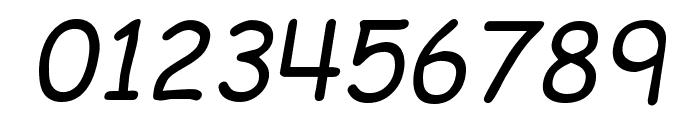 EMcomic-Italic Font OTHER CHARS