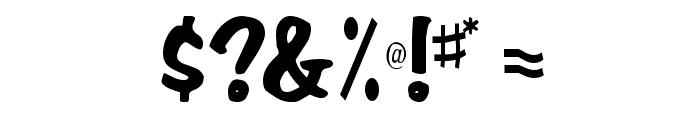 Em Regular Font OTHER CHARS